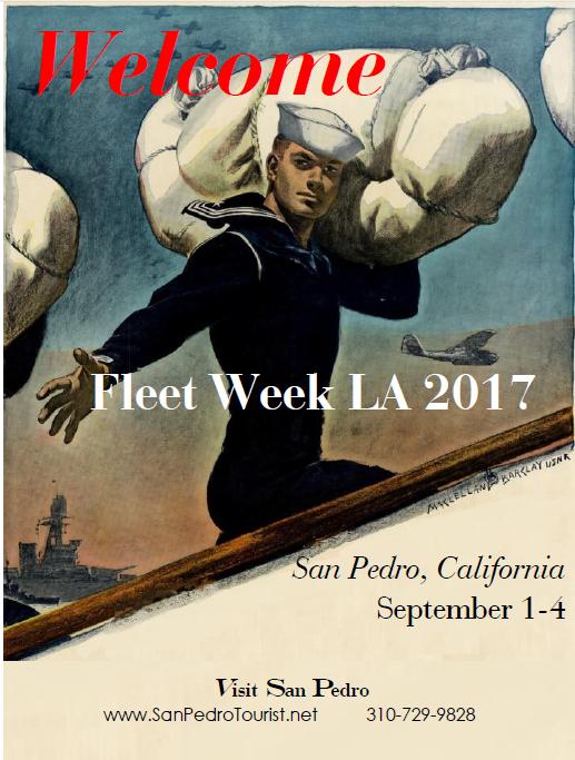 2017 Fleet Week Welcome Poster