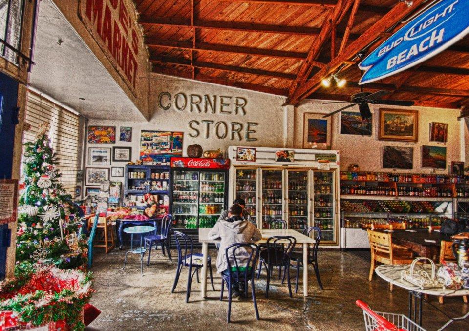 The Corner Store interior