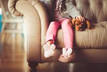 Child and dog photo via Pixabay