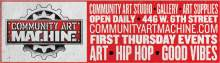 Community Art Machine ad