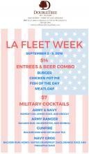DoubleTree by Hilton San Pedro Fleet Week specials