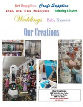 Our Creations flyer