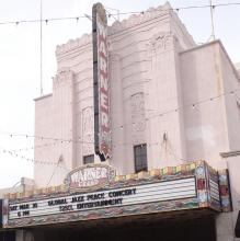 The Warner Grand Theatre in Downtown San Pedro
